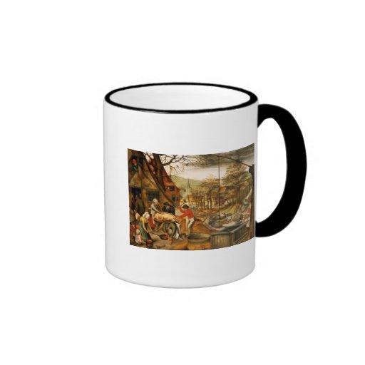 Allegory of Autumn Mug