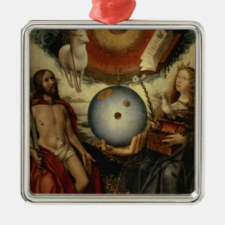 Allegory of Christianity Christmas Ornament