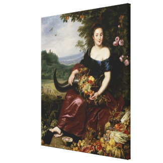 Allegory of Earth Canvas Print
