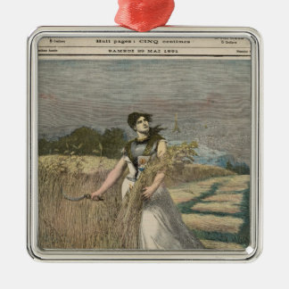 Allegory of France Christmas Ornament