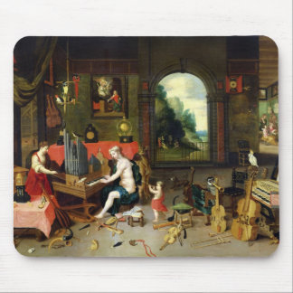 Allegory of Hearing Mouse Pad