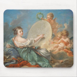 Allegory of Painting, 1765 (oil on canvas) Mouse Pad