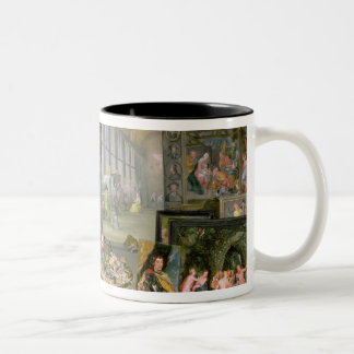 Allegory of Painting 2 Two-Tone Coffee Mug
