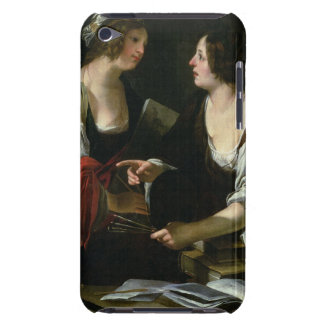 Allegory of Painting and Architecture, c.1620 (oil iPod Case-Mate Case