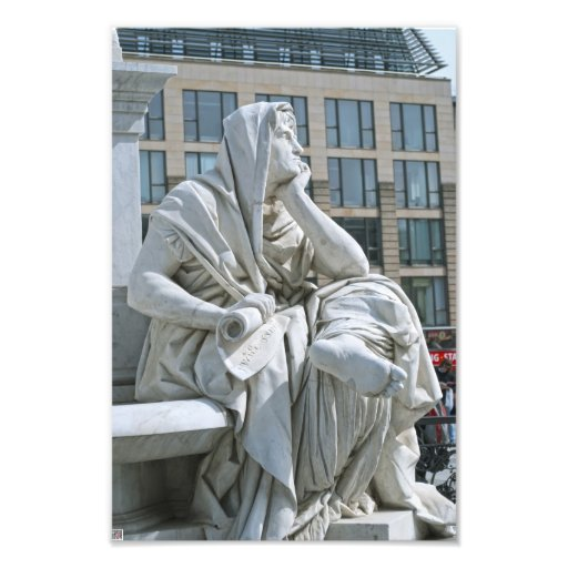 Allegory of Philosophy of Schiller Monument in Ber Photograph