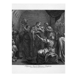 Allegory of Providence Giovanni Battista Piranesi Postcard