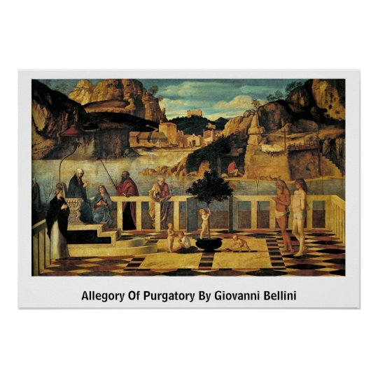 Allegory Of Purgatory By Giovanni Bellini Poster
