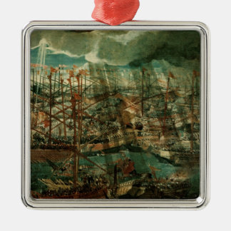 Allegory of the Battle of Lepanto Christmas Ornament
