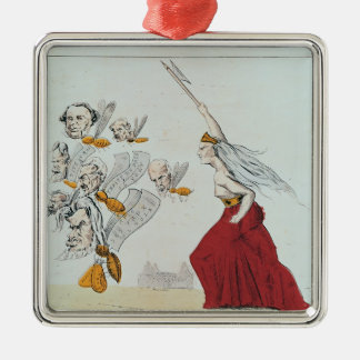 Allegory of the Commune, 1871 Christmas Ornament