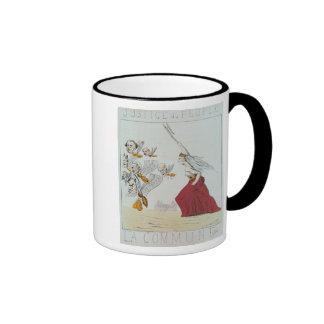 Allegory of the Commune, 1871 Ringer Mug