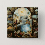 Allegory of the Creation of the Cosmos 15 Cm Square Badge