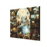 Allegory of the Creation of the Cosmos Canvas Print