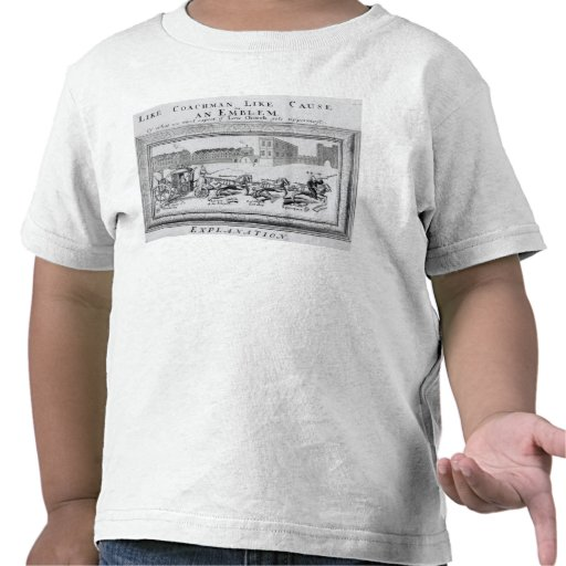 Allegory of the Dangers of Low Church Tshirts