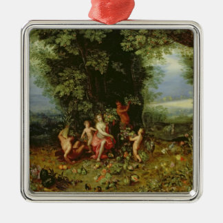 Allegory of the Earth Christmas Ornament