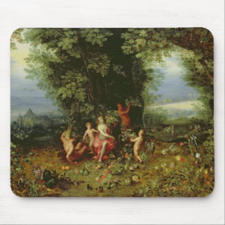 Allegory of the Earth Mouse Mat