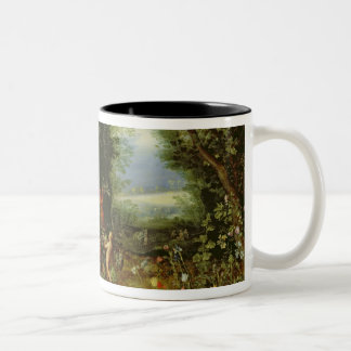 Allegory of the Earth Two-Tone Coffee Mug