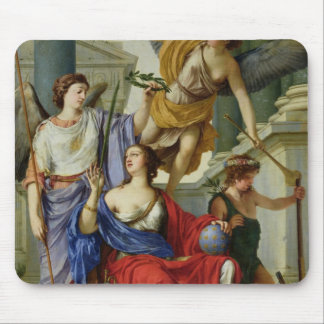 Allegory of the Regency of Anne of Austria  1648 Mouse Mat