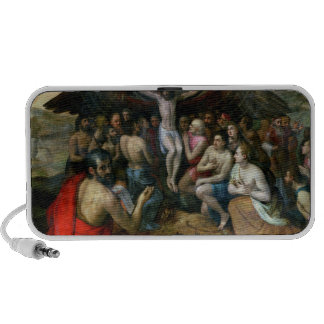 Allegory of the Trinity (oil on panel) Travel Speakers