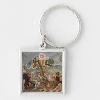 Allegory of the Turkish Wars Keychain