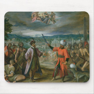 Allegory of the Turkish Wars Mouse Mat