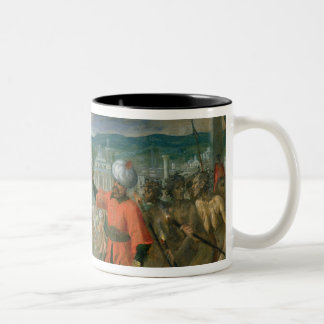 Allegory of the Turkish Wars Two-Tone Coffee Mug