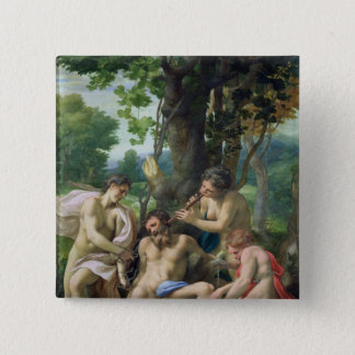 Allegory of the Vices, 1529-30 15 Cm Square Badge