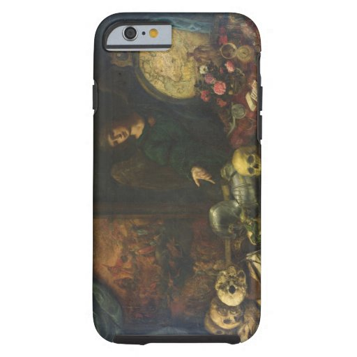 Allegory of Vanity, 1650-60 (oil on canvas) iPhone 6 Case