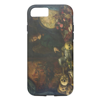 Allegory of Vanity, 1650-60 (oil on canvas) iPhone 8/7 Case