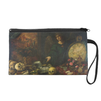 Allegory of Vanity, 1650-60 (oil on canvas) Wristlet