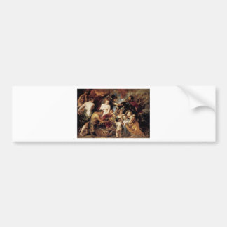 Allegory on the Blessings of Peace by Peter Paul Bumper Sticker