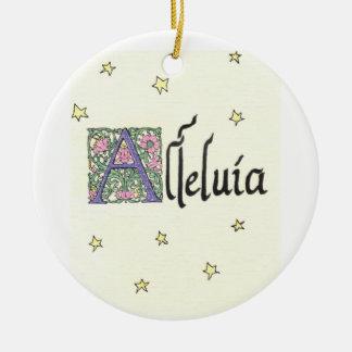 Alleluia Ornament