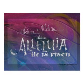Alleluia Postcard