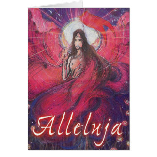 Alleluja (in Polish) Greeting Card