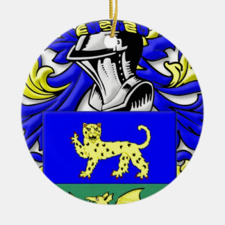 Alleman Coat of Arms Christmas Ornament