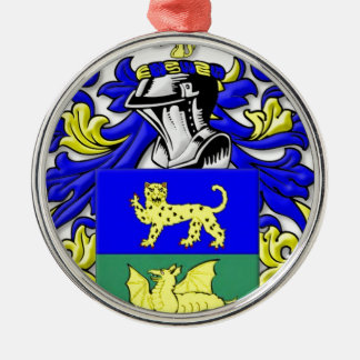 Alleman Coat of Arms Christmas Ornaments