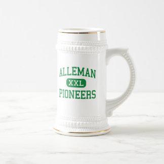 Alleman - Pioneers - High - Rock Island Illinois Beer Stein