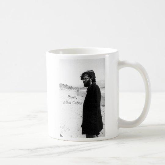 Allen Cohen on Beach 1960s Coffee Mug