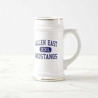 Allen East Mustangs Middle Harrod Ohio Beer Steins