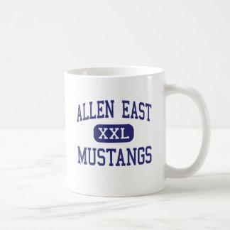 Allen East Mustangs Middle Harrod Ohio Basic White Mug