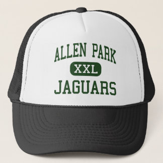 Allen Park - Jaguars - High - Allen Park Michigan Trucker Hat