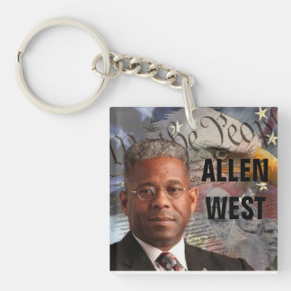 ALLEN WEST Key Chain