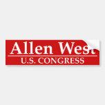 Allen West U.S. Congress Bumper Stickers