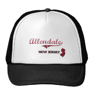 Allendale New Jersey City Classic Mesh Hat