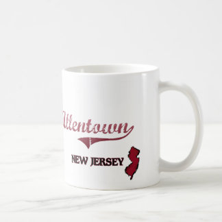 Allentown New Jersey City Classic Coffee Mugs