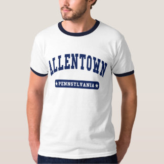 Allentown Pennsylvania College Style t shirts