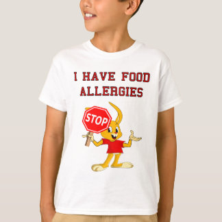 Aller Bunny StopBunny Food Allergies T-Shirt