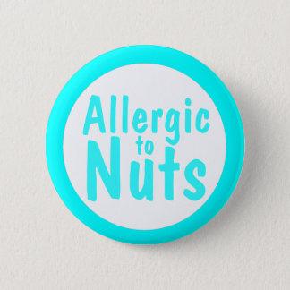 Allergic 6 Cm Round Badge