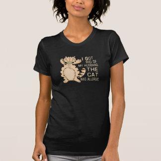 Allergic Cat T-Shirt