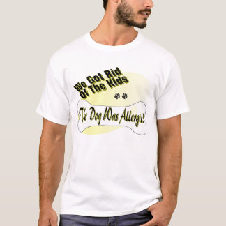 Allergic Dog T-Shirt