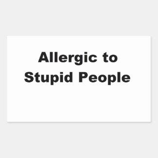 Allergic Sticker